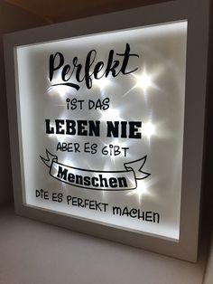 Ribba Beleuchteter Bilderrahmen  LED Lichterkette Deko