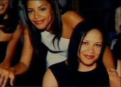 Aaliyah and her mother