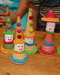Crafts by Danika: Modepoppies en Hansworse Kids Party Treats, Birthday Treats, Party Snacks, Baking With Toddlers, Cooking With Kids, Edible Crafts, Food Crafts, Mini Chef, Market Day Ideas