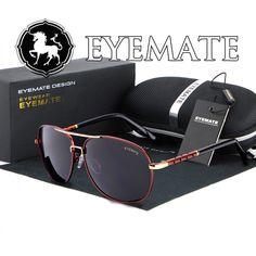 $11.00 (Buy here: https://alitems.com/g/1e8d114494ebda23ff8b16525dc3e8/?i=5&ulp=https%3A%2F%2Fwww.aliexpress.com%2Fitem%2FEYEMATE-men-Polarized-Sunglasses-high-end-double-color-big-box-driving-Sunglasses-riding-Sunglasses-371-wholesale%2F32589528848.html ) Men Sunglasses Eyemate Brand Polarized  high-end double color big box driving Sunglasses Classes Style Brand design Sun Glasses for just $11.00