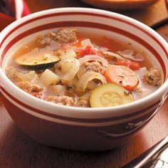 Country Italian Soup