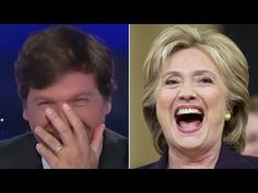 Tucker Carlson laughs at Hillary Clinton's new book - YouTube #theshit