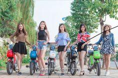 Giới thiệu xe đạp điện Nijia Plus 2017 đủ màu