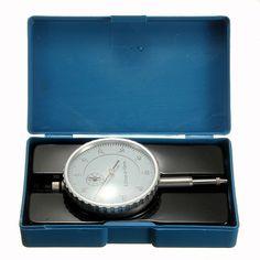 2015 0.01mm Precisión Instrumento de Medición Dial Indicador de Prueba de Precisión Calibre Herramienta