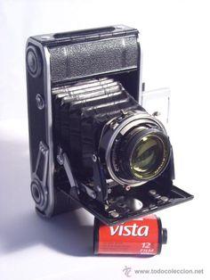 todocoleccion: cámara antigua Voigtlander Bess 66 (baby bessa)
