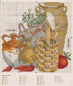 Cross Stitch Designs, Cross Stitch Patterns, Cross Stitch Kitchen, Vintage World Maps, Pictures, Crafts, Painting, Kitchen Items, Verandas