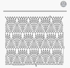Blog destinado à todas crocheteiras e tricoteiras,com gráficos, receitas e outros projetos encontrado na net.
