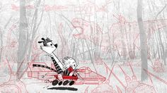 Interesting Tribute to Calvin and Hobbes