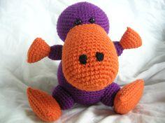 Pete the Platypus  Amigurumi Crochet PATTERN ONLY by daveydreamer, $3.50