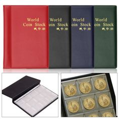 120 coin #collection holders storage collecting #money #penny pockets album book,  View more on the LINK: http://www.zeppy.io/product/gb/2/361708298009/