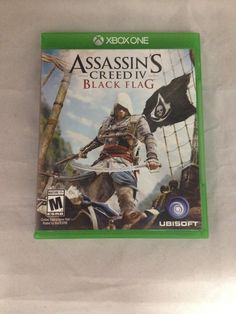 Xbox one Assassin's Creed IV Black Flag Video Game SOLD!! Was available at Gadgets and Gold in Gainesville, FL!