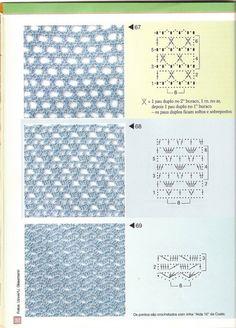 Gallery.ru / Фото #29 - Pontos de croche  205 идей - accessories