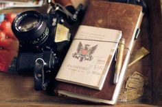 Writing in style Midori Traveller's Notebook