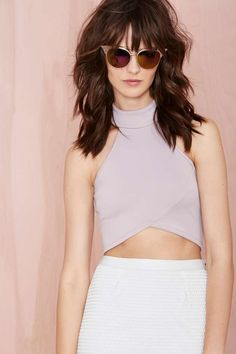 Lily Crop Top | Shop Play, Girl at Nasty Gal