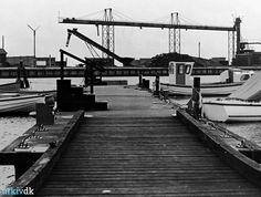 arkiv.dk   Bandholm Havn. Bådebro.