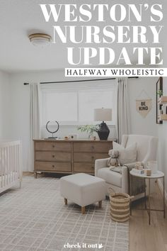 Visit here to see this nursery for a boy on Halfway Wholeistic! If you are looking for boy nursery ideas, then this is the blog post for you. Get inspired by this nursery idea with a neutral color palette. There is nothing more chic than nursery ideas that are neutral gray and white. You will love this baby boy nursery room idea and themed color scheme. Be sure to buy neutral paint colors for a gender neutral nursery decor that is also calming for the baby. #nursery #home #decor Neutral Nursery Colors, Neutral Paint Colors, Neutral Colour Palette, Nursery Room, Kids Bedroom, Nursery Decor, Nursery Organization, Baby Boy Nurseries, Home Decor Styles