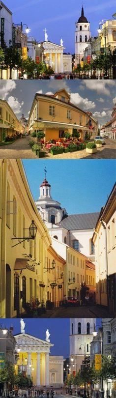 All over Vilnius. The capital city of grand ole Lietuva.