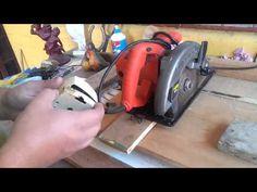 Adaptación de sierra circular para uso como sierra angular deslizable. - YouTube