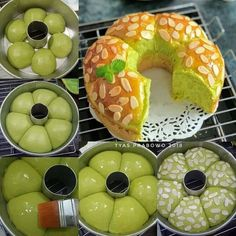 Image may contain: food Asian Bread Recipe, Bread Recipes, Cake Recipes, Dessert Recipes, Cooking Recipes, Bread Bun, Bread Cake, Honey Buttermilk Bread, Curry Bread