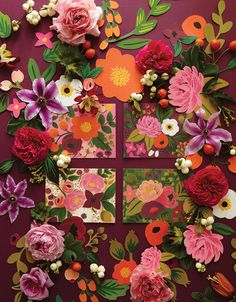 Rifle Paper Co.'s 2013 Look Book - A Magical Combination of Stationery & Floral Design - design and illustration Floral Style, Floral Design, Illustration Blume, Pattern Illustration, Botanical Illustration, Design Seeds, Floral Illustrations, Paper Goods, Paper Flowers