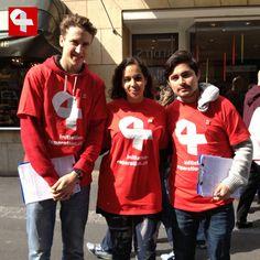 Sammelaktion für Wiedergutmachungsinitiative in Neuenburg #wiedergutmachen