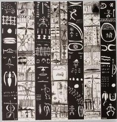 John Pule, Tuagafale lologo, woodcut and litho, 1998 Auckland Art Gallery, Polynesian Art, New Zealand Art, Jr Art, Maori Art, European Paintings, African Textiles, Art Icon, Tribal Art