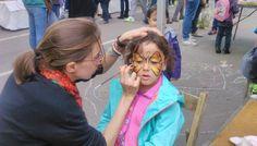 Maquilladora para fiestas. Maquillaje para fiestas infantiles. Maquillaje de fantasía para niños. Fiestas temáticas con maquillaje y pintacaras