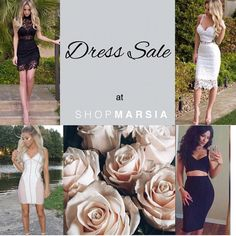 HAPPENING NOW: Our biggest DRESS SALE // Going fast. www. Shopmarsia.com #shopmarsia