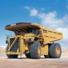 Caterpillar CAT  CAT 797F worlds largest mining truck