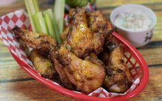 Hickory Smoked Wings