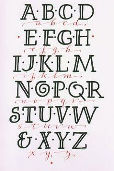 Lettering – Art Lettering – Hand Lettering -Typography – Calligraphy – by Chris | We Know How To Do It