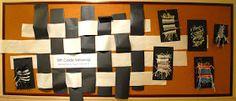 ARTabroad: Weaving a Bulletin Board Backdrop