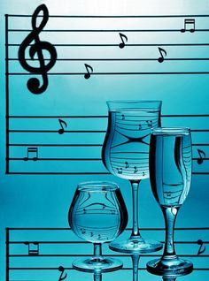 :) Music witha glas of wine and I am just fine!!