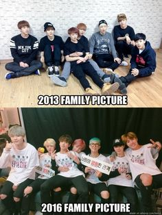 Some things just don't change XD | allkpop Meme Center. Rap Monster shouldve kept his hair blond