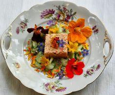bushcooks kitchen: Ein Teller geht auf Reisen und angelt sich unterwegs eine altmodische Lachs-Forellen-Terrine