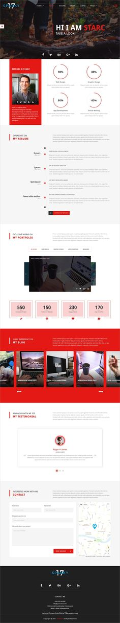 Portfolio For Resume Whoiam Creative Portfolio & Resume Cv Psd Template  Pinterest .