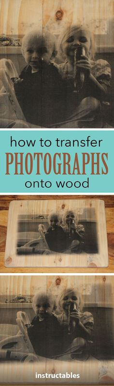 Customize any woodworking project with a photo transfer.