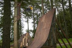 Dark Woods: Der etwas andere BMX-Kurs im Wald
