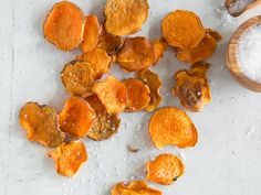Süßkartoffel Chips - smoked Paprika Style