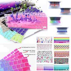 Flexible Soft Silicone Gel Keyboard Cover Skin Protectors for Laptop MacBook Mac #UnbrandedGeneric