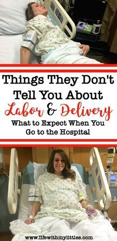 If you're a first-time mom wondering what to expect during labor and delivery at the hospital, this post is for you! This mama of three reveals everything they won't tell you so you won't be surprised during childbirth!
