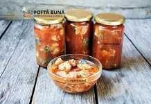 Conserva de peste in sos tomat, reteta pentru iarna Canning Pickles, Romanian Food, Romanian Recipes, Preserving Food, Preserves, Celery, Carne, Seafood, Food And Drink