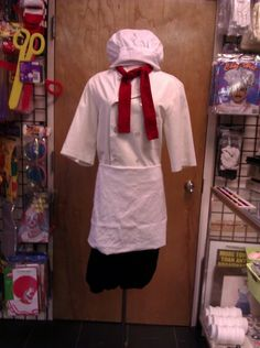 Chef Louis Little Mermaid Costume