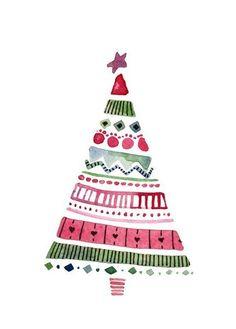 новогодняя елка рисунок красками: 19 тыс изображений найдено в Яндекс.Картинках
