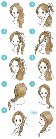 20 peinados súper lindos y fáciles que cualquiera puede hacer - Imagen 9
