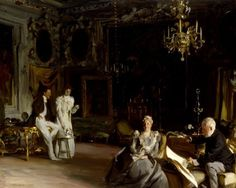 John Singer Sargent, An Interior in Venice on ArtStack #john-singer-sargent #art
