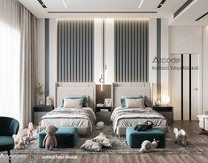 Showroom Interior Design, Hotel Room Design, Room Design Bedroom, Home Bedroom, Bedroom Decor, Master Bedroom, Luxury Kids Bedroom, Modern Bedroom, Girls Bedroom