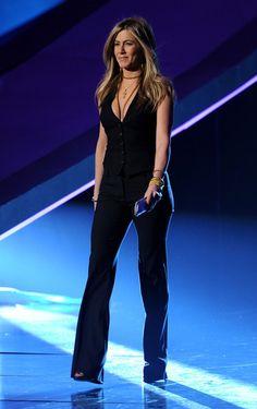Jennifer Aniston Vest - Jennifer Aniston Outerwear - StyleBistro