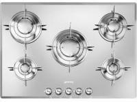 Table de cuisson gaz SMEG Evolution PTV705ES 5 foyers