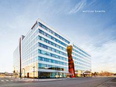 Building 10, Stockholm, Sweden. Designed by amazing Swedish firm Wingardh Arkitektontor.